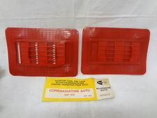 Mascherina invernale Copriradiatore radiator cover winter mask FIAT 500 rosso bz