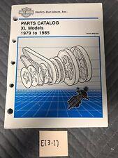 1979-1985 Harley-Davidson Parts Catalog For Sportster Models 99451-85A
