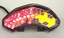 Ducati Multistrada 1200 Integrated LED Taillight; Brake and Turns w/ Smoked Lens