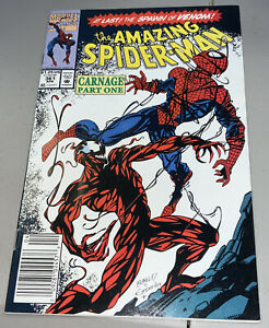 AMAZING SPIDER-MAN #361 Marvel 1st App Appearance Carnage Newsstand Variant