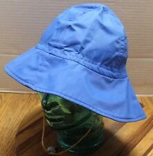 VINTAGE YOUTH GORE-TEX BUCKET HAT BLUE SIZE LARGE CHIN CINCH GOOD CONDITION