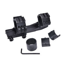 """Dual PEPR 1""""/30mm Ring Cantilever Rifle Scope Flat Top Rail Mount"""