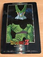 AMADA 1993 Version Hard Carte Dragon Ball Z DBZ PP Card Part 20 #845 Prisme