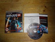 MASS EFFECT 3  PS3 Free UK P&P