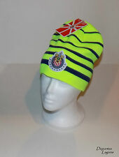 CHIVAS DE GUADALAJARA RHINOX BEANIE HAT (GRN/BLU)    OFFICIALLY LICENSED MEXICO