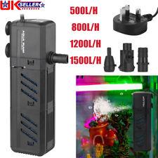 More details for 4 in 1 aquarium fish tank water pump internal purifier filter oxygen wave power