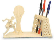 Football Pen Holder 3D Wooden Modelling Kit Model Jigsaw Puzzle