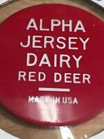 Token, Alpha Jersey Dairy Red Deer Alberta, Special Milk Red Collectable Coin P4