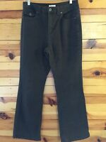 Christopher & Banks Women's Green Stretch Jeans Size 8