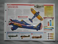 Aircraft of the World Card 3 , Group 14 - Boeing P-26 Peashooter
