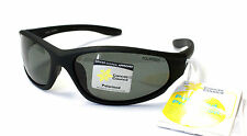 Cancer Council Mens Active Fashion Polarised Sunglasses Taree Black Wrap Around