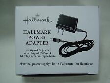 2012 Hallmark Power Adapter use with Tabletop accessories Snowglobes