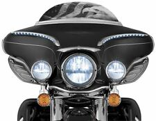 "Kuryakyn Phase 7 LED Motorcycle Headlight (2249) - OEM 7"" Direct Replacement"