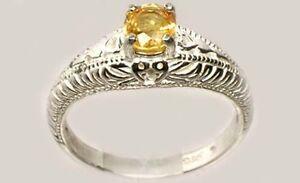 Orange Sapphire Ring ¾ct Antique 19thC Medieval Ram Engrave Gem Stop Black Magic