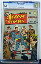 ACTION COMICS #113 CGC 8.5 Superman 1947 3rd Highest Graded copy Only 2 better