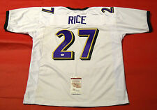 RAY RICE AUTOGRAPHED BALTIMORE RAVENS JERSEY JSA