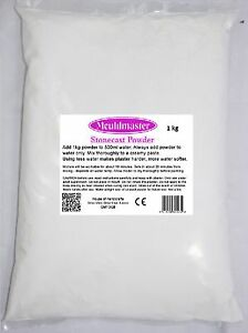 Creation High Strength Casting Plaster for Crafts - Pick from 250g to 25kg