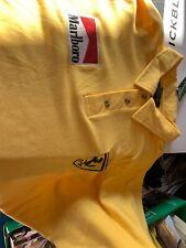 Ferrari Polo Shirt Yellow Nee