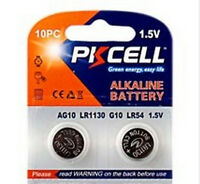 AG10 LR1130 189 389 1.5 volts Button Cell Battery pack of 2 with FREE Shipping