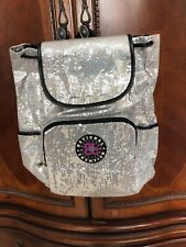 Cheer/Dance Silver Sequin Backpack