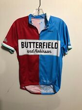Primal Medium Blue And Red Cycling Shirt Butterfield And Robinson
