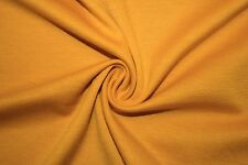 Mustard Ponte Double Knit 95% Polyester 5% Spandex Lycra Stretch Fabric BTY
