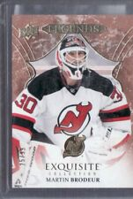 2016/17 MARTIN BRODEUR EXQUISITE COLLECTION CARD 25/99