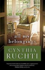 All My Belongings, Ruchti, Cynthia, Good Book
