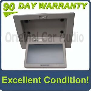 GMC CHEVY Overhead Rear Entertainment System LCD Display Screen for DVD Player