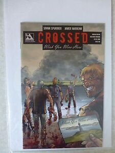 """Crossed Wish You Were Here """"Ashcan Edition"""" San Diego Comicon Cover Ltd To 1500"""
