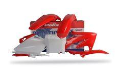 Honda Kit de Plásticos Crf 450 R 2007 Rojo Oem Motocross Polisport 90125