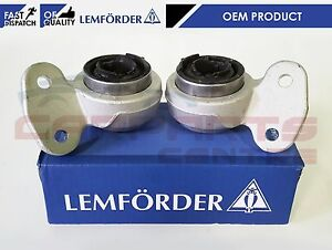 FOR BMW E46 Z4 FRONT LOWER WISHBONE CONTROL ARM REAR BUSH BUSHES SPORT LEMFORDER