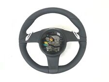 Porsche 991 981 Boxster Cayman Sport Chrono PDK Black Leather Steering Wheel