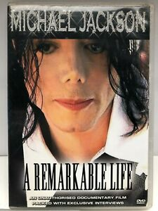 Michael Jackson - A Remarkable Life - DVD - AusPost with Tracking