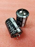 2x PANASONIC ECOS2DA471CA 470uF 200v LARGE CAN ALUMINUM ELECTROLYTIC CAPACITORS