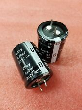 2x PANASONIC ECOS2DA471CA 470uF 200v LARGE CAN ALUMINUM ELECTROLYTIC CAPACITORS