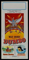 Cartel Dumbo Walt Disney Cartoon Animación Circo Elefante Circus N36