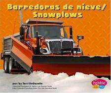 Barredoras de nieve/Snowplows (Maquinas maravillosas/Mighty Machines)-ExLibrary