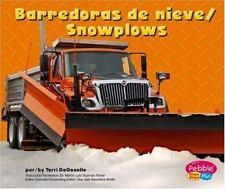Barredoras de nieve/Snowplows (Maquinas maravillosas/Mighty Machines) (Multiling