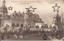 CPA - EXPO BRUXELLES 1910 - Le Chien Vert - NEUVE