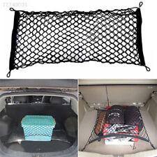 C023 Car Trunk Rear Cargo Organizer Storage Elastic Nylon Mesh Net Holder Black