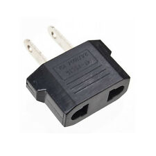 European EU to American US USA Travel Adapter Jack Wall Plug Outlet Converter