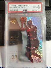 1997 SKYBOX E-X2001 Michael Jordan #9 PSA 10 GEM (pop 12)