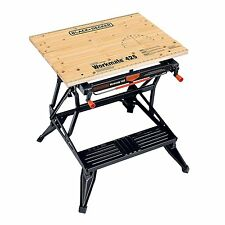 Workbench Table Workshop Home Mechanics Carpenters Craftsman Folding 550 Pounds
