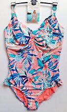 M&S Swimming Costume Swimsuit Underwired Tummy Control Var Sizes RRP £39.50 BNWT