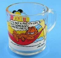 McDonald 1978 Vintage Collectible Garfield Glass Cup
