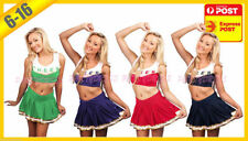 Unbranded Polyester Cheerleader Dress Costumes for Women