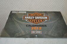 CALENDRIER MOTO HARLEY DAVIDSON  MOTOR CALENDAR 2012 SPORSTER TOURING