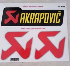 kit Adesivi stickers AKRAPOVIC