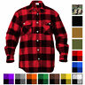 Rothco Plaid Flannel Shirt Brawny Buffalo Heavyweight Checkered Lumberjack